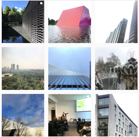 Cuentas arquitectura y diseño internacionales