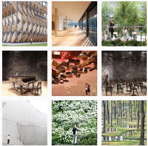 Cuentas arquitectura y diseño Instagram internacionales